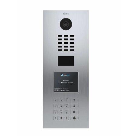 """DoorBird DoorBird D21DKV 3.5"""" Roestvrijstaal intercomsysteem"""