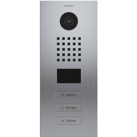 DoorBird DoorBird D2103V Roestvrijstaal intercomsysteem