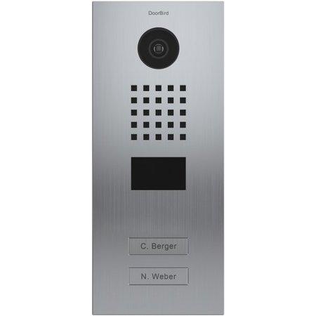 DoorBird DoorBird D2102V Roestvrijstaal intercomsysteem