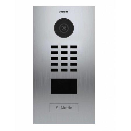 DoorBird DoorBird D2101V Roestvrijstaal intercomsysteem