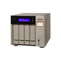 QNAP TVS-473E RX-421BD Ethernet LAN Tower Grijs NAS