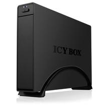 """ICY BOX IB-366StU3+B 3.5"""" HDD-behuizing Zwart"""