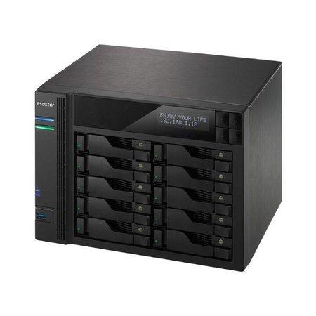 Asustor Asustor AS7010T-I5 data-opslag-server Ethernet LAN Compact Zwart NAS