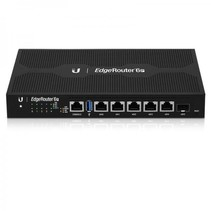 Ubiquiti Networks EdgeRouter 6P bedrade router Gigabit Ethernet Zwart