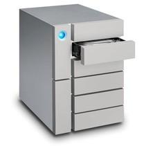 LaCie 24TB 6big Thunderbolt 3 disk array Desktop Zilver