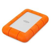 LaCie Rugged Mini externe harde schijf 1000 GB Oranje, Zilver