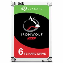 6TB Guardian IronWolf NAS (ST6000VN0033)