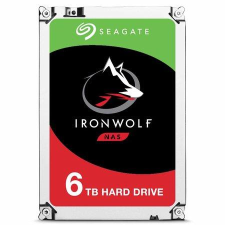 Seagate Seagate IronWolf ST6000VN0033 HDD 6000GB SATA III interne harde schijf