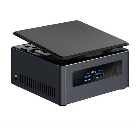 Intel Intel NUC NUC7i7DNHE BGA 1356 1.9GHz i7-8650U UCFF Zwart