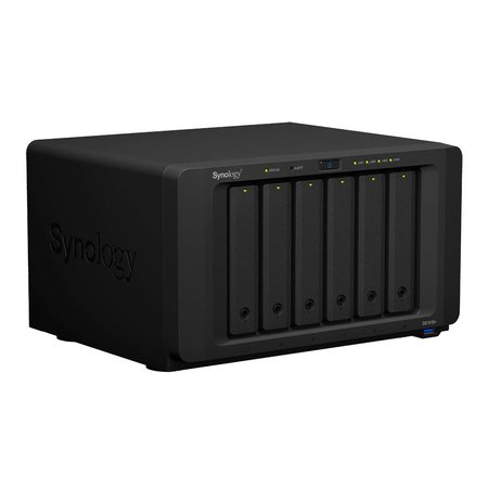 Synology Synology DiskStation DS1618+ data-opslag-server C3538 Ethernet LAN Desktop Zwart NAS