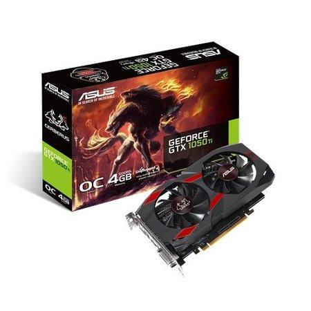 Asus ASUS CERBERUS-GTX1050TI-O4G NVIDIA GeForce GTX 1050 Ti 4 GB GDDR5