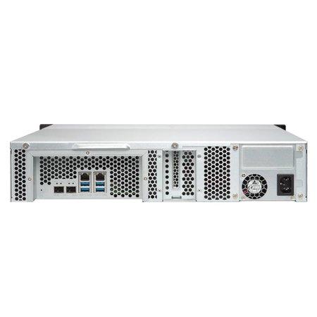 QNAP QNAP TS-832XU NAS Rack (2U) Ethernet LAN Zwart