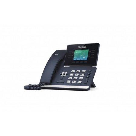 YEALINK Yealink SIP-T52S Handset met snoer 16regels LCD Zwart IP telefoon