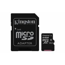 SD MicroSD Card  64GB Kingston SDXC Canvas (Class10) m.Ada