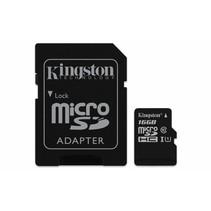 SD MicroSD Card  16GB Kingston SDHC Canvas (Class10) m.Adapt