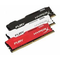 DDR4  8GB PC 2400 CL15 Kingston HyperX Fury Red retail