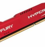 Kingston HyperX FURY Red 16GB 1866MHz DDR3 geheugenmodule 2 x 8 GB