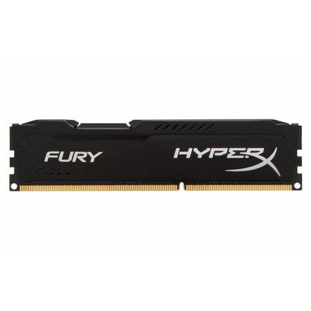 Kingston HyperX FURY Black 8GB 1866MHz DDR3 geheugenmodule 1 x 8 GB
