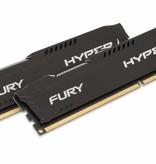 Kingston HyperX FURY Black 8GB 1600MHz DDR3 geheugenmodule 2 x 4 GB