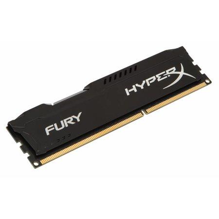 Kingston HyperX FURY Black 8GB 1600MHz DDR3 8GB DDR3 1600MHz geheugenmodule