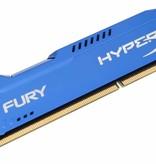 Kingston HyperX FURY Blue 8GB 1600MHz DDR3 geheugenmodule 2 x 4 GB