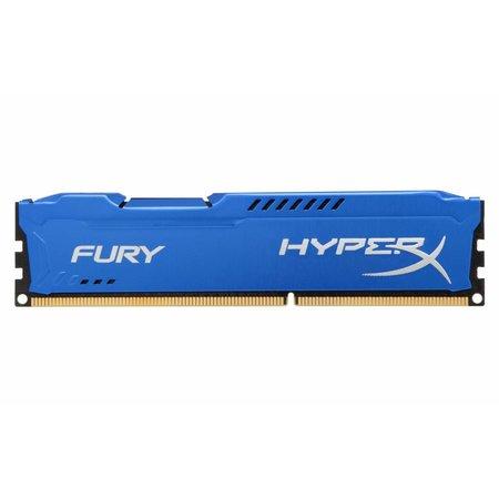 Kingston HyperX FURY Blue 4GB 1600MHz DDR3 geheugenmodule 1 x 4 GB