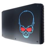 Intel Intel NUC BOXNUC8I7HVK2 PC/workstation barebone i7-8809G 3,1 GHz 1,2L maat pc Zwart BGA 2270