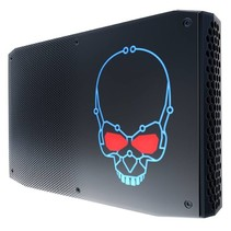 Intel NUC BOXNUC8I7HVK2 PC/workstation barebone i7-8809G 3,1 GHz 1,2L maat pc Zwart BGA 2270