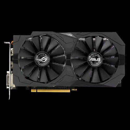 Asus Asus Strix Gtx1050 O2g Gaming Geforce Gtx 1050 2gb Gddr5 My