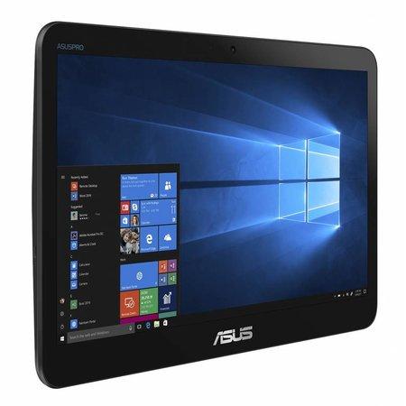 "Asus ASUS A41GAT-BD018T 39,6 cm (15.6"") 1366 x 768 Pixels Touchscreen Intel® Celeron® 4 GB DDR4-SDRAM 500 GB HDD Wi-Fi 5 (802.11ac) Zwart Alles-in-één-pc Windows 10 Home"