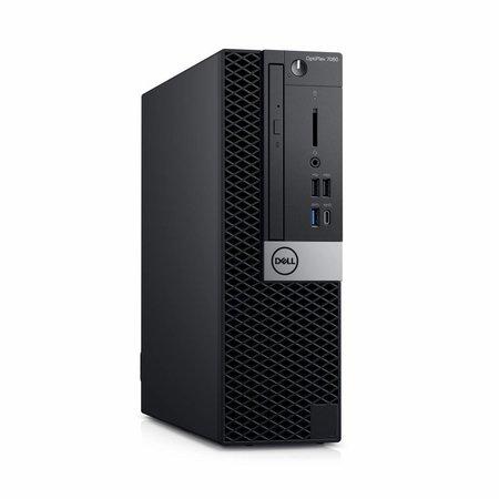 Dell DELL OptiPlex 7060 3GHz i5-8500 SFF Intel® 8ste generatie Core™ i5 Zwart PC