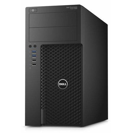Dell DELL Precision T3620 4.2GHz i7-7700K Mini Toren Zevende generatie Intel® Core™ i7 Zwart Workstation