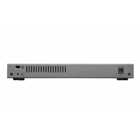 Netgear Netgear GS110MX Unmanaged 10G Ethernet (100/1000/10000) Zwart