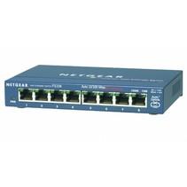 ProSafe Unmanaged Switch - FS108v3 - 8-port Fast Ethernet 10/100 Mbps - desktop