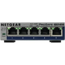 ProSafe Plus GS105E 5-port Gigabit Ethernet Switch - Switch - unmanaged - 5 x 10/100/1000 - desktop