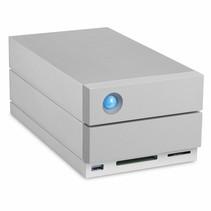 LaCie 2big Dock Thunderbolt 3 disk array 8 TB Desktop Grijs