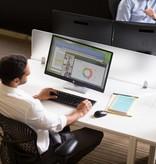 "Hewlett & Packard INC. HP ProDisplay P240va 23.8"" Full HD LED Flat Zwart computer monitor"