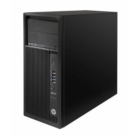 Hewlett & Packard INC. HP Z240 3.6GHz i7-7700 Mini Toren Zevende generatie Intel® Core™ i7 Zwart Workstation