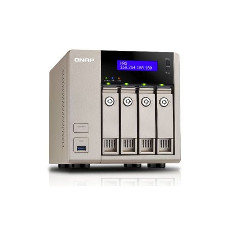 QNAP QNAP TVS-463 Ethernet LAN Toren Goud NAS