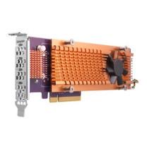 Quad M.2 2280 PCIe (Gen2 x4) NVMe SSD expansion card