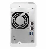QNAP QNAP TS-231P2 Ethernet LAN Toren Wit NAS