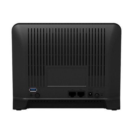 Synology Synology MR2200AC draadloze router Dual-band (2.4 GHz / 5 GHz) Gigabit Ethernet 3G 4G Zwart
