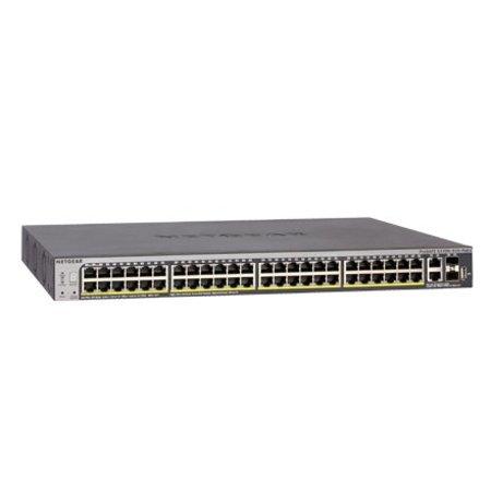 Netgear Netgear S3300-52X Beheerde netwerkswitch L2/L3 Gigabit Ethernet (10/100/1000) Zwart