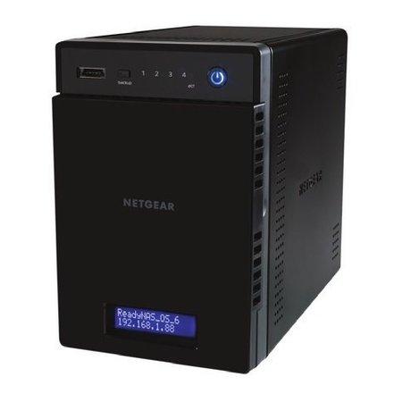 Netgear Netgear ReadyNAS 214 Ethernet LAN Zwart NAS