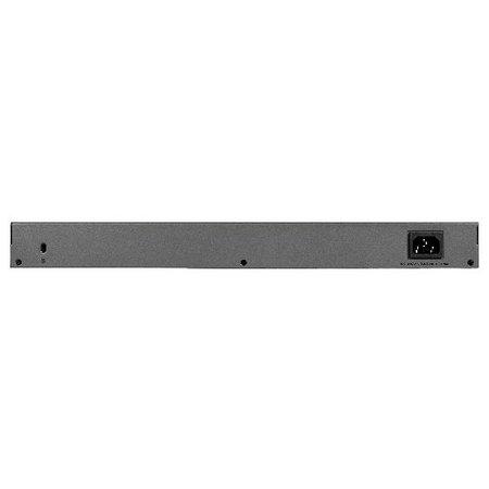 Netgear Netgear GS750E Managed L2 Gigabit Ethernet (10/100/1000) 1U Zwart