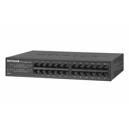 Netgear Netgear Unmanaged Switch - GS324 - 24 Gigabit Ethernet poorten 10/100/1000 Mbps