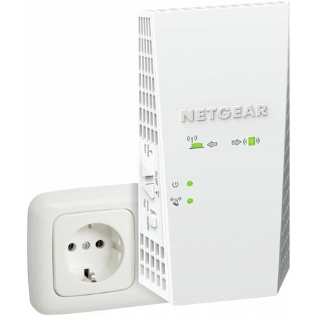 Netgear Netgear Nighthawk EX7300 X4 AC2200, Dual-Band WiFi Range Extender - 1 Gigabit Ethernet poort