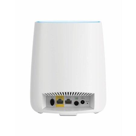 Netgear Orbit RBR20 draadloze router Tri-band (2.4 GHz / 5 GHz / 5 GHz) Gigabit Ethernet Wit