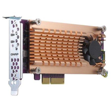 QNAP QNAP QM2 interfacekaart/-adapter M.2 Intern
