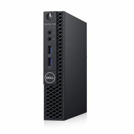 Dell DELL OptiPlex 3060 3,10 GHz Intel® 8ste generatie Core™ i3 i3-8100T Zwart Mini PC